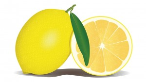 Citrus Vitamin Lemon Fruit Yellow